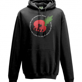 Remembrance Sunday 2017 – Poppy Day Hoodie