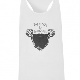 Beards and Burpees Men's Racerback Vest