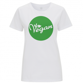 "Vegan Women's ""The Favourite"" Fair Trade Fitted T-Shirt"