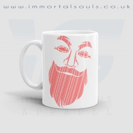 Anonybeard 11 oz White Ceramic Mug