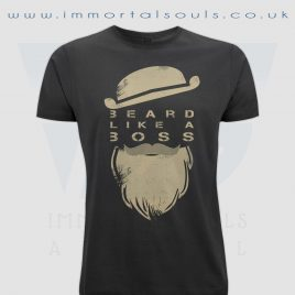beard like a boss large print