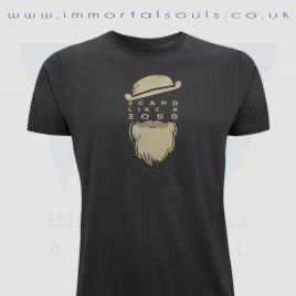 beard like a boss t-shirt