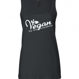 Vegan For The Voiceless Fair Trade Relaxed Womens Tank