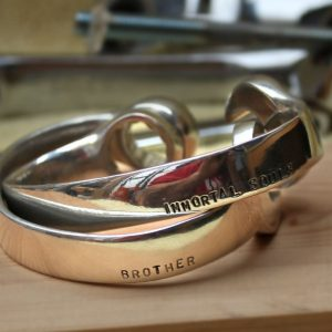 Mechanic Christmas Gifts – Personalised Men's Spanner Bangle