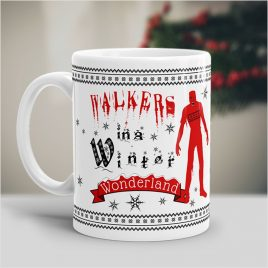 Walkers In A Winter Wonderland Mug